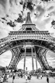 The leaning Tower of Eiffel