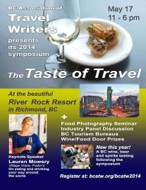 Taste of travel poster