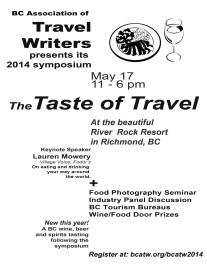 Taste of travel poster plain