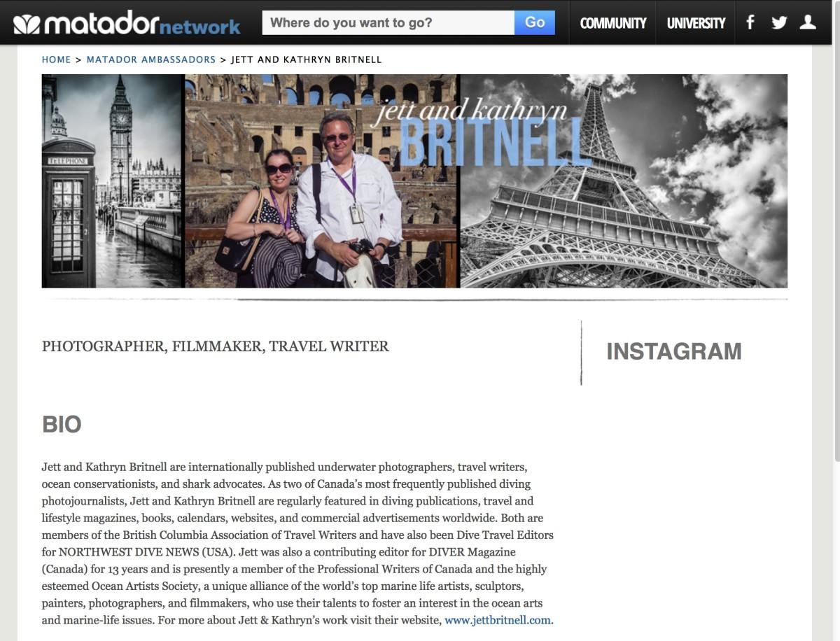 Jett & Kathryn matador network