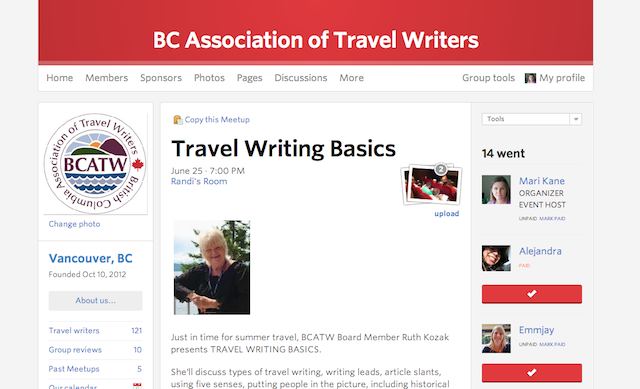 bcatw meetup page