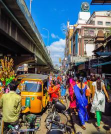 Pondy Bazaar area - Chennai