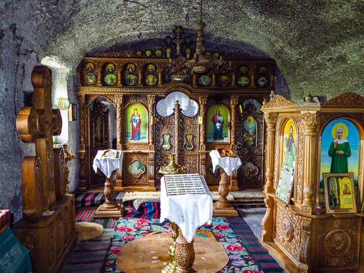 Monastery Cave altar